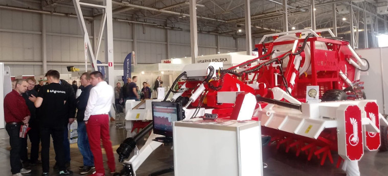 maszyna rolnicza Husarya SCS-100 targach